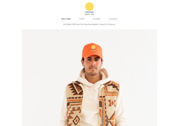 adam mar clothing