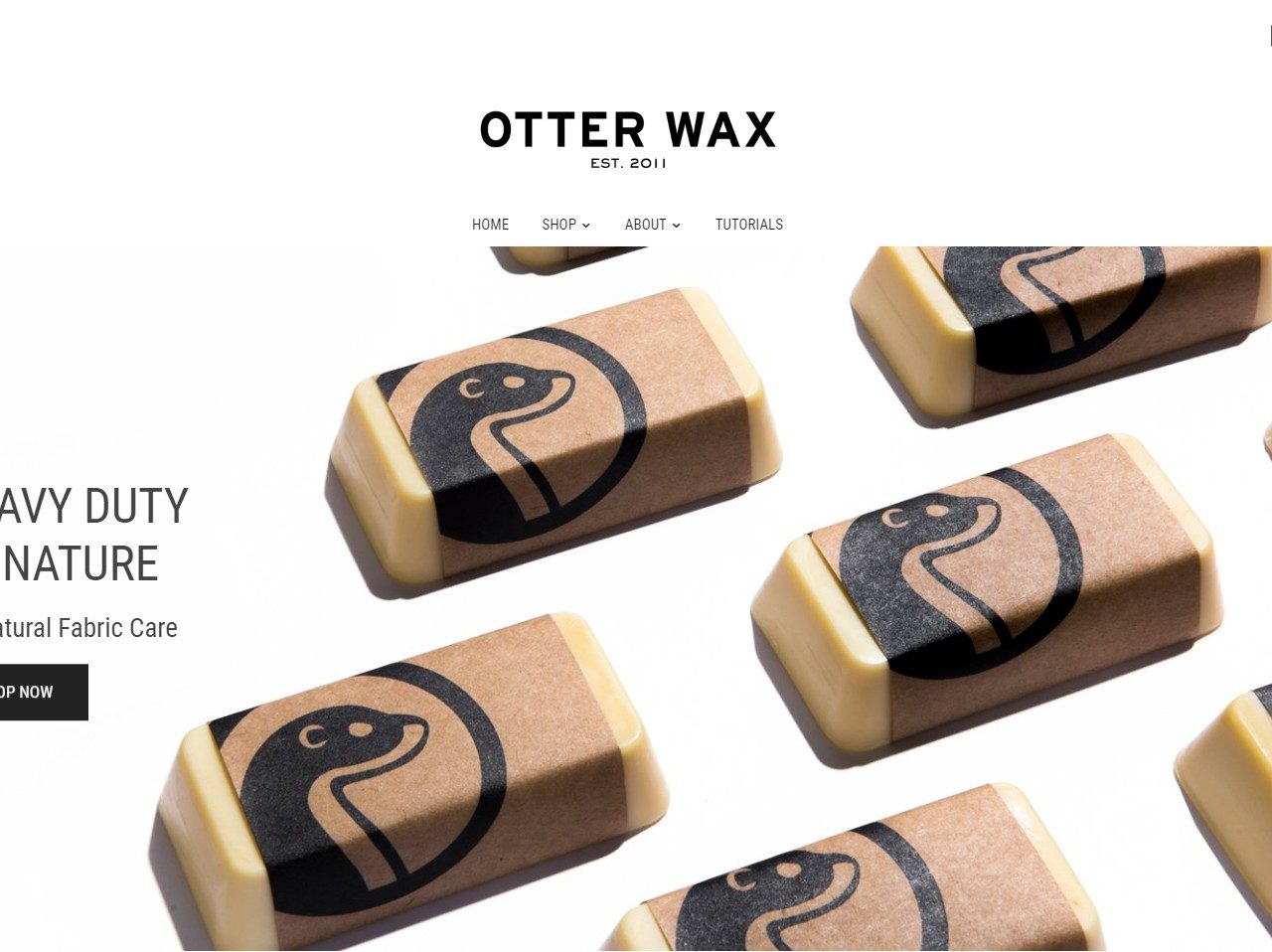 Otterwax Fabric & Leather Care Products.