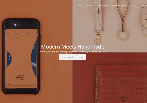 woollymade Modern Leather Craft.