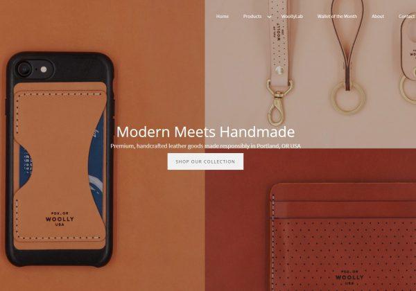 woollymade Modern Leather Craft.