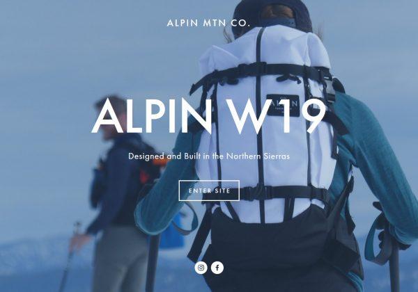 alpin mountainc ompany