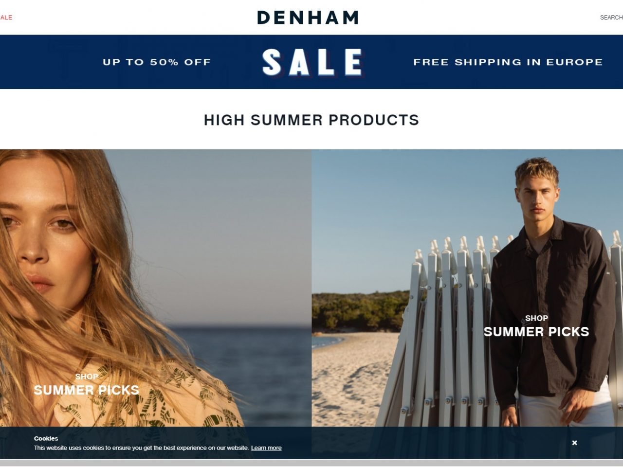 Jeans, t-shirts, sweats and jackets. Hosted by Jason Denham
