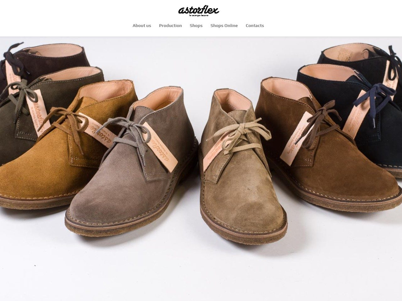 Astorflex The best desert boots in the world.