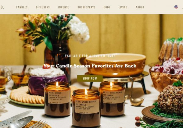 P. F. Candle Co. Fragances