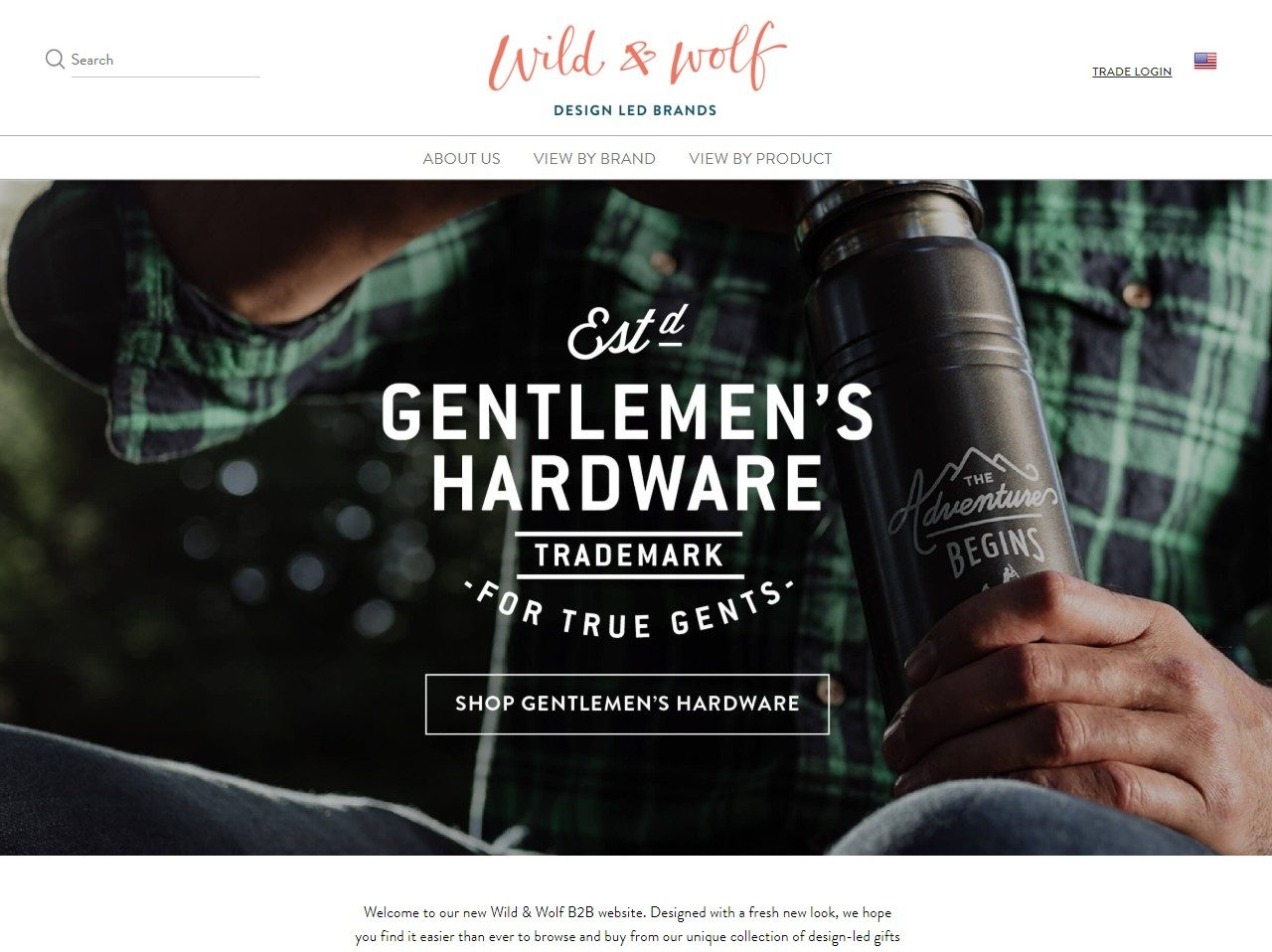 Wild & Wolf creates original, thoughtful, design-led gifts and lifestyle products.