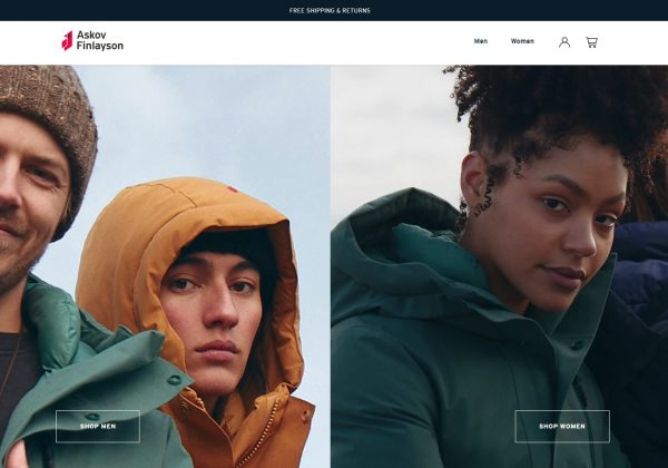 Askov Finlayson Climate positive winter outerwear