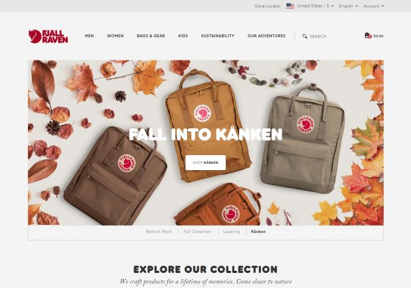 Fjällräven Bags and Backpacks