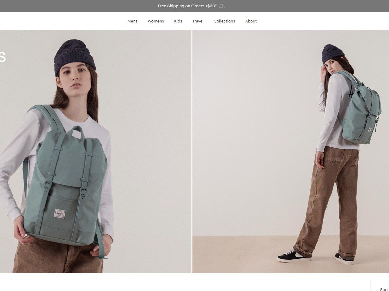 Herschel Supply Co. Backpacks and Bags